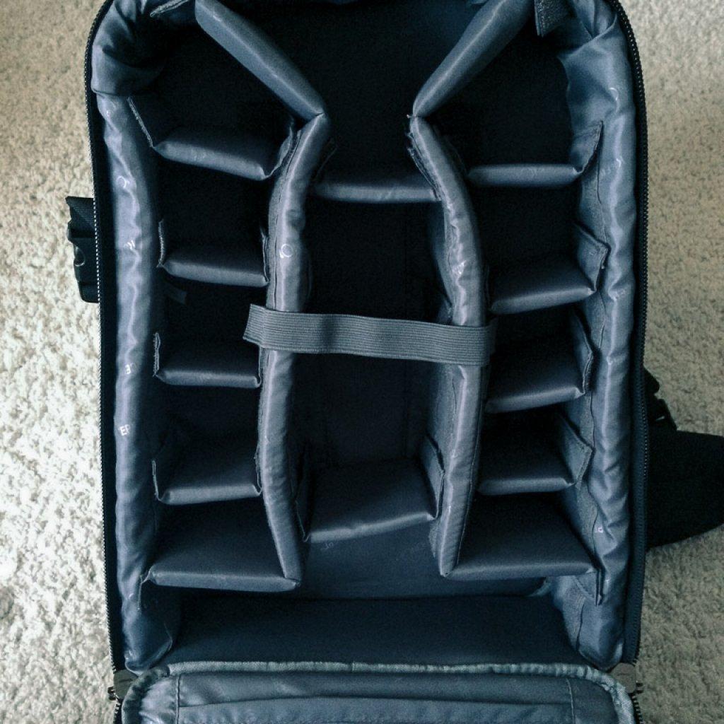 K&F Concept Kamera Rucksack mit viel Platz und sehr flexibel