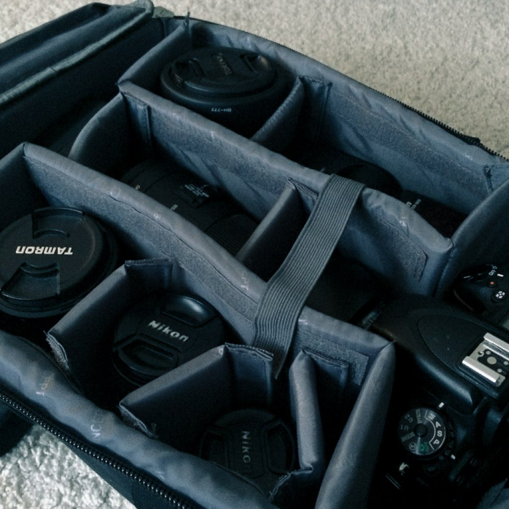 K&F Concept Kamera Rucksack mit viel Platz