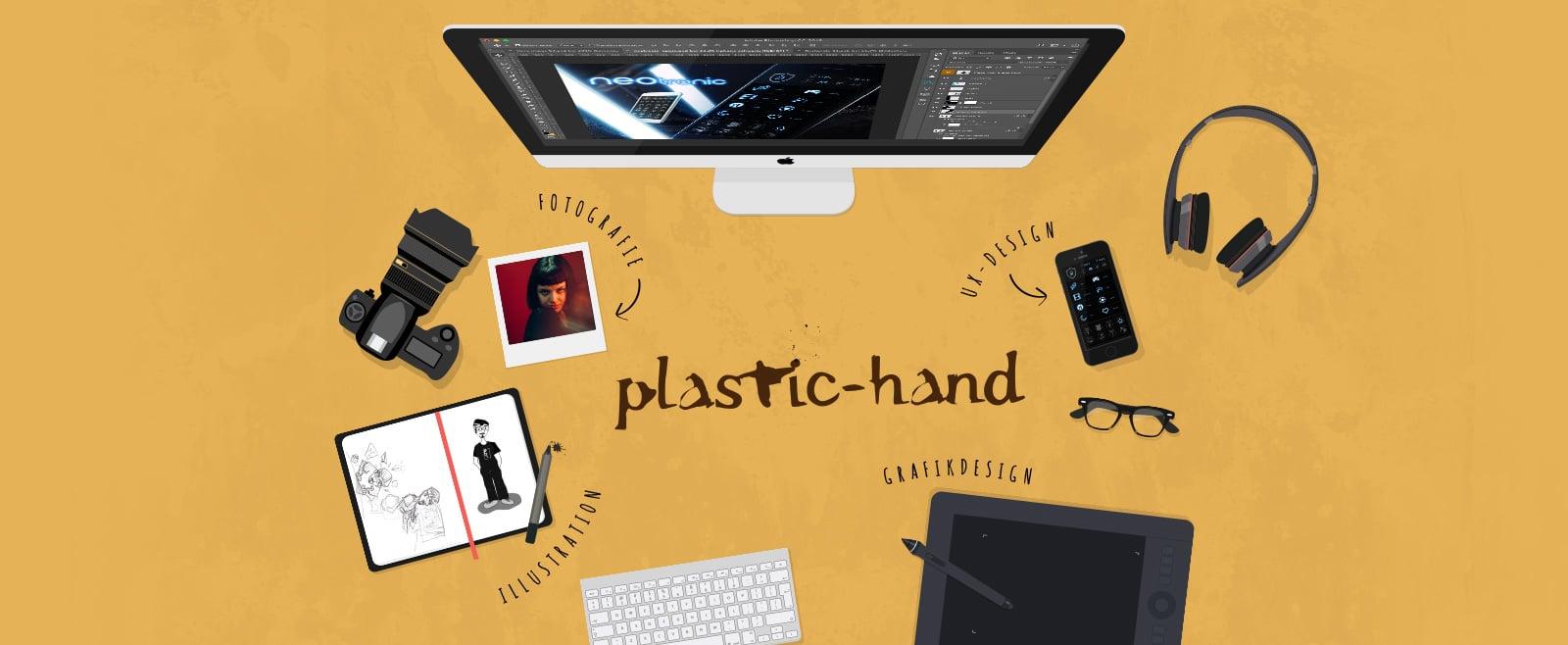 slider-plastic-hand_illustrator_webdesign_photography_design